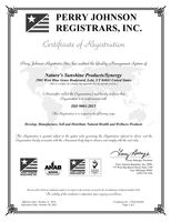 Certificate ISO 9001: 2015 2020 Part 1